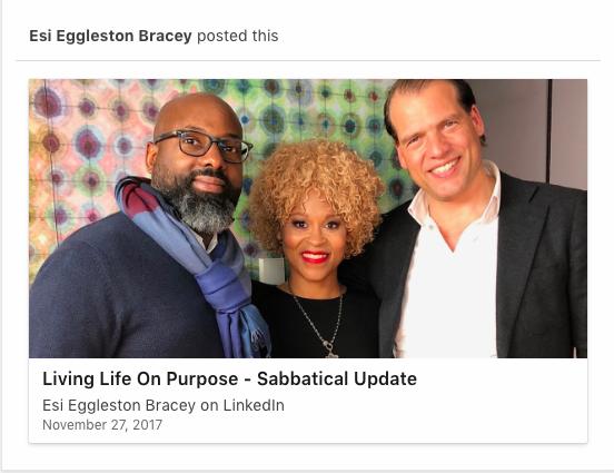 Esi Eggleston Bracey Linkedin article